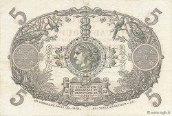 5 Francs Cabasson rouge GUADELOUPE  1934 P.07c SUP à SPL