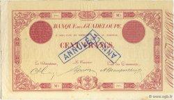 100 Francs rouge, type 1874 GUADELOUPE  1893 K.107b TTB+