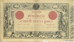 500 Francs, type 1852 modifié 1874 GUADELOUPE  1922 P.10 pr.TTB
