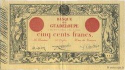 500 Francs GUADELOUPE  1924 P.10 SUP