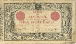 500 Francs GUADELOUPE  1928 P.10 TB+