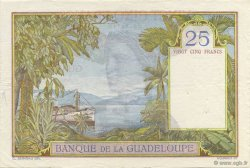 25 Francs, type 1927 GUADELOUPE  1934 P.14 SUP