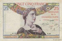 25 Francs, type 1927 GUADELOUPE  1944 K.112b TTB+