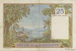 25 Francs GUADELOUPE  1944 P.14 TTB+