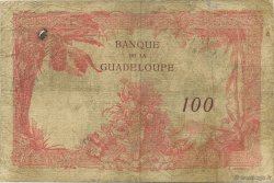 100 Francs GUADELOUPE  1930 P.16 pr.TB