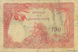 100 Francs, type 1927 GUADELOUPE  1932 P.16 TB+