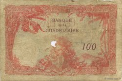 100 Francs, type 1927 GUADELOUPE  1934 K.113c B+