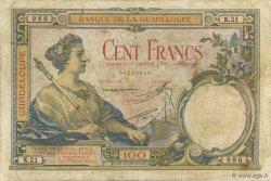 100 Francs, type 1927 GUADELOUPE  1934 K.113c TB