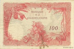 100 Francs, type 1927 GUADELOUPE  1944 P.16 TTB