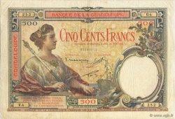 500 Francs, type 1927 GUADELOUPE  1934 K.114a TTB