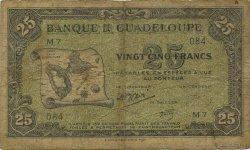 25 Francs GUADELOUPE  1945 P.22b B