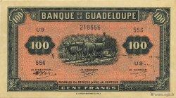 100 Francs, type Américain GUADELOUPE  1945 K.117b SUP
