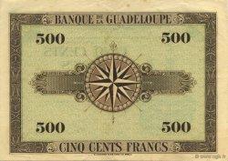 500 Francs, type Américain GUADELOUPE  1943 K.118a SUP