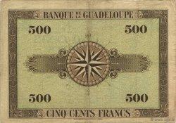 500 Francs GUADELOUPE  1945 P.24c TTB