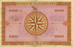 1000 Francs, type Américain GUADELOUPE  1943 K.120a SUP+