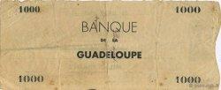 1000 Francs, type chèque GUADELOUPE  1942 K.122b TTB