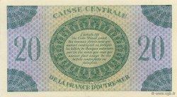 20 Francs, type Anglais GUADELOUPE  1944 K.125 SPL
