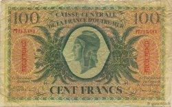 100 Francs GUADELOUPE  1944 P.29a TB+