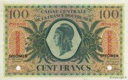 100 Francs, type Anglais GUADELOUPE  1944 P.29s pr.NEUF