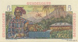 5 Francs Bougainville GUADELOUPE  1946 K.129 SPL