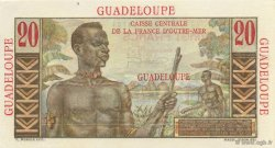 20 Francs E.Gentil GUADELOUPE  1946 P.33 NEUF