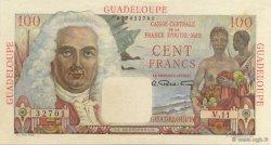 100 Francs La Bourdonnais GUADELOUPE  1946 P.35 SPL