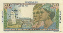 500 Francs Pointe à Pitre GUADELOUPE  1946 P.36 SUP+