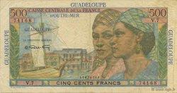 500 Francs Pointe à Pitre GUADELOUPE  1946 K.134 TTB