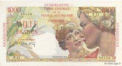 1000 Francs Union Française GUADELOUPE  1946 K.135 SPL
