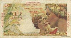1000 Francs Union Française GUADELOUPE  1946 P.37a TB à TTB