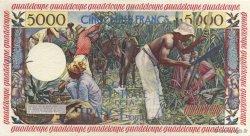 5000 Francs antillaise GUADELOUPE  1955 P.40 SPL
