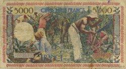 5000 Francs antillaise GUADELOUPE  1955 K.138 TB