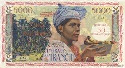 50 Nouveaux Francs antillaise GUADELOUPE  1960 P.44 SPL