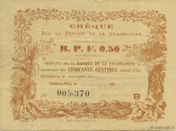 50 Centimes GUADELOUPE  1890 K.167 TTB