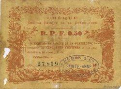 50 Centimes GUADELOUPE  1890 K.167 TB+