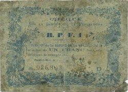 1 Franc GUADELOUPE  1890 K.169 AB