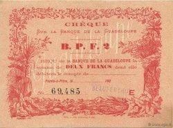 2 Francs GUADELOUPE  1900 K.170 pr.NEUF
