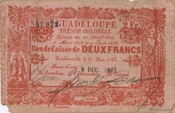 2 Francs GUADELOUPE  1864 K.151 TB