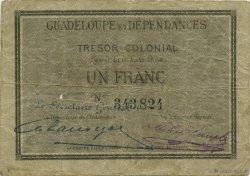 1 Franc GUADELOUPE  1884 P.01A TB+