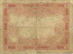 5 Francs TAHITI  1920 P.01b B+