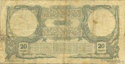 20 Francs TAHITI  1920 KM.505 TB