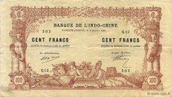 100 Francs TAHITI  1920 P.06b TTB+