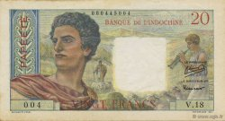 20 Francs TAHITI  1951 P.21a SUP+