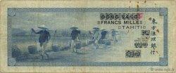 1000 Francs TAHITI  1943 KM.520a TB à TTB