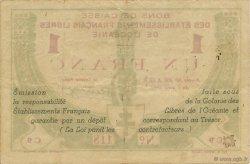 1 Franc TAHITI  1942 KM.556 TTB+