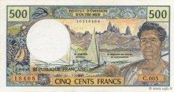 500 Francs TAHITI  1992 K.816 NEUF