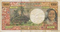 1000 Francs TAHITI  1996 K.819b TB à TTB