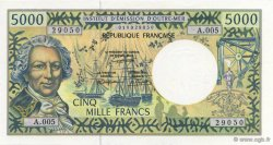 5000 Francs TAHITI  1996 K.820 NEUF