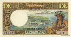 100 Francs TAHITI  1973 K.811 pr.NEUF