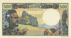 500 Francs TAHITI  1970 P.25a pr.NEUF